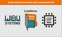 CodeMeter integrated with Intel SGX