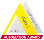 [Translate to German:] Automation Award 2017 - 3rd place for components