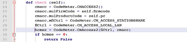 """Funktion """"CmAccess2"""""""
