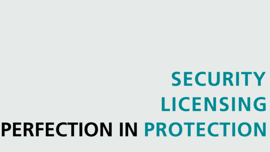 Perfection in Protection, Licensing, Security