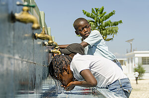 Clean water for schoolchildren in Haiti