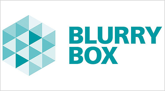 Blurry Box Logo