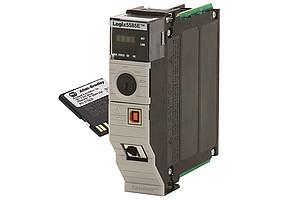 Allen-Bradley® ControlLogix 5580 programmierbare Steuerung von Rockwell Automation mit CmCard/SD