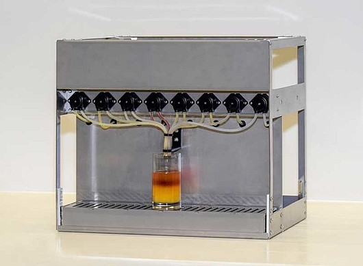 Drink Mixer: Order your CodeMeter protected and licensed drinks