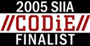 CODiE-Logo Finalist 2005, Wibu-Systems, Best Digital Rights Management Solution: Software