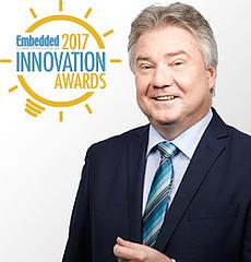 Oliver Winzenried named Top Embedded Innovator 2017
