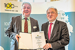 Bilder der Preisverleihung - 100 Orte für Industrie 4.0 in Baden-Württemberg