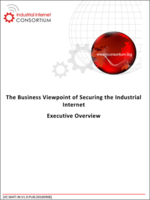 The Business Viewpoint of Securing the Industrial Internet