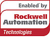 Enabled by RockwellAutomation Technologies Logo