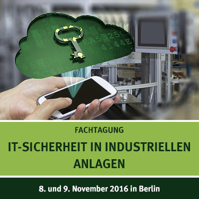 Symposium IT Security in Industrial Plants