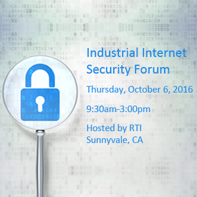 Industrial Internet Security Forum 2016