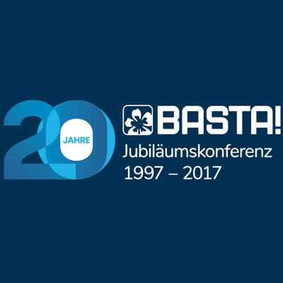 [Translate to German:] BASTA Anniversary Conference - 20 Years BASTA